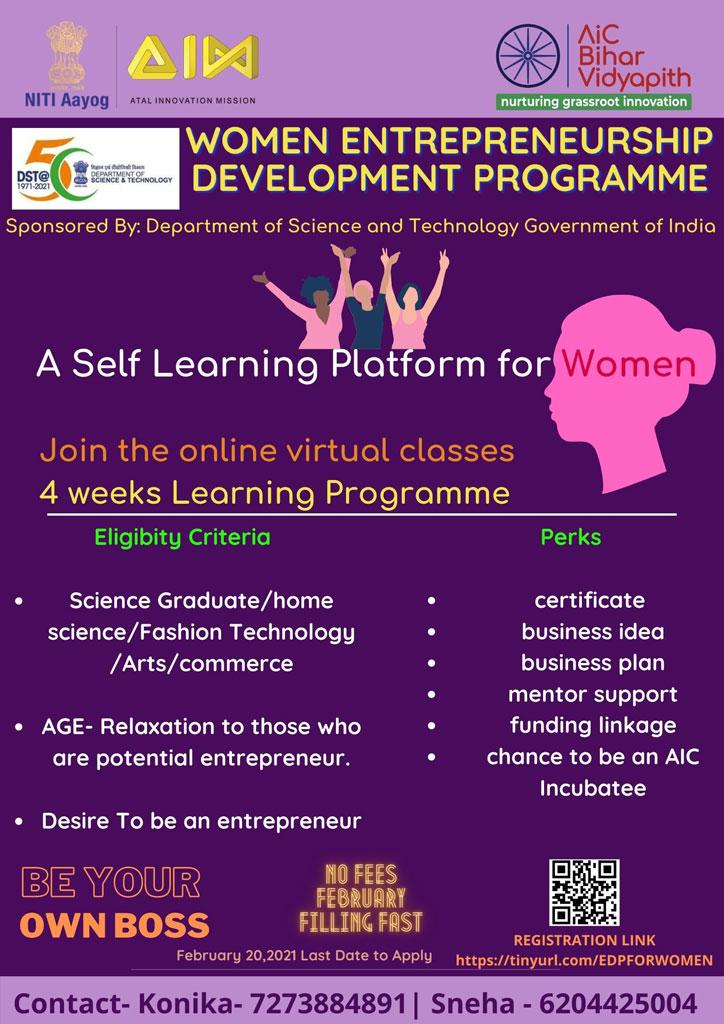 Women-Entrepreneurship-Development-Program